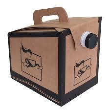Box Coffee coffee box yellow dot cafe