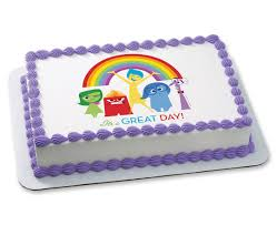 inside out cakes inside out it s a great day photocake cake cakes