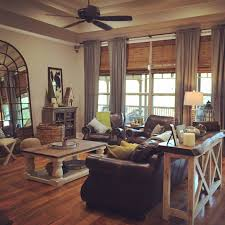 Color Schemes For Living Rooms With Brown Furniture by How To Decorate With Brown Leather Furniture Brown Leather