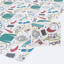 bicycle wrapping paper bicycle wrapping paper gift tag only 59p
