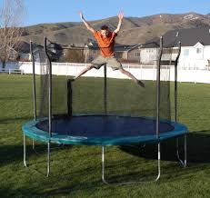 propel trampolines 12 ft trampoline with enclosure shop your way