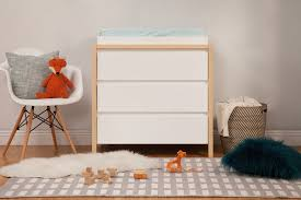 White Dresser And Changing Table Bingo 3 Drawer Changer Dresser With Removable Changing Tray