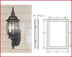 vinyl siding light mount outdoor lighting mounting blocks inspire vinyl siding mounting