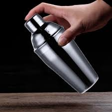 online shop 6pcs 750ml stainless steel cocktail shaker with