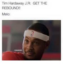 Anthony Meme - nba memes on twitter report carmelo anthony told tim hardaway