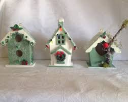 miniature birdhouse etsy