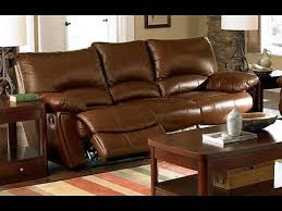 Leather Reclining Sofas Uk Leather Reclining Sofa With Fold Console