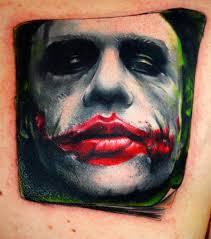 joker tattoo video joker tattoos pictures video information on joker tattoos