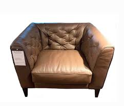 Chesterfield Sofa Leather by Furniture Home Chester Bay Tufted Genuine Leather Chesterfield