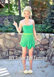Bell Halloween Costume Tinker Bell Hair U0026 Makeup Tutorial Diy Costume Diy Halloween