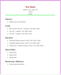 simple resume exles for college students this is simple resume outline basic resume templates basic resume