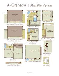 Casita Floor Plan Granada Home Plan By Gehan Homes In Rittenhouse Ranch U2013 Palazzo Series