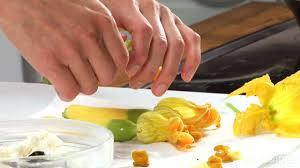 how to prepare squash blossoms myrecipes
