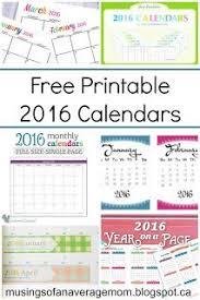free printable planner calendar 2016 free planner 2016 free printable planner printable planner and