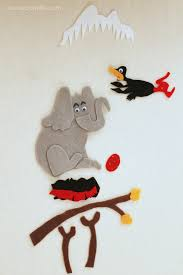 horton hatches the egg coloring pages horton hatches the egg felt storyboard laura u0027s crafty life