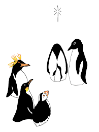 the three wise penguins the christmas penguin shop
