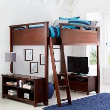 hampton convertible loft bed pbteen