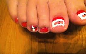 christmas toe nail designs if you liked this design check out my