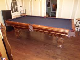 brunswick mission pool table a16 gorgeous used brunswick ashbee pool table for sale available in