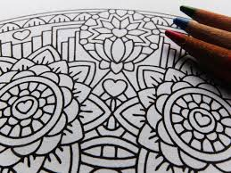 equanimity upekkha mandala candyhippie coloring pages