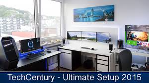 ultimate gaming u0026 editing setup tour summer 2015 techcentury