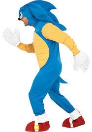 Sonic Shadow Halloween Costume Sonic Hedgehog Costume Escapade Uk