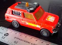 matchbox land rover matchbox speed kings model no k 64 range rover fire control truck