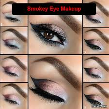 15 easy tutorials guide you how to do smokey eye makeup step by