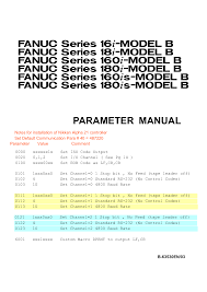 100 fanuc series 18 m control parameter manual manual par磧