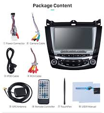 8 u0026 034 car dvd player video gps navi autoradio stereo for honda