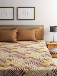 Buy Cheap Double Bed Sheets Online India Welhome Buy Welhome Towels U0026 Bedsheets Online Myntra