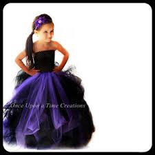 Black Halloween Costumes Girls Black U0026 Purple Witch Girls Size Tutu Dress 2t 3t 4t 5t