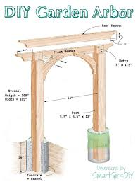 wedding arches plans 115 best gates fences and fencing materials images on