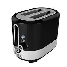 8 Slot Toaster Extra Wide Slot 2 Slice Toaster Black Decker