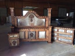 Best Cowhide Western Furniture Images On Pinterest Western - Cowhide bedroom furniture
