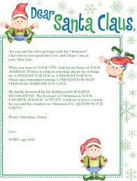 elf letter template printable elves santa letter template