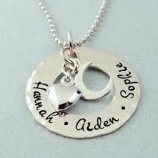 I Love You To The Moon And Back Personalized Necklace Personalized Jewelry I Love You To The Moon And Back Jewelry