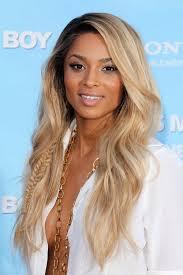 dark roots blonde hair ciara wavy golden blonde dark roots mini braids hairstyle steal
