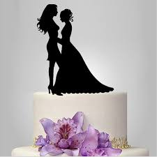 same wedding toppers and silhouette cake topper same wedding cake
