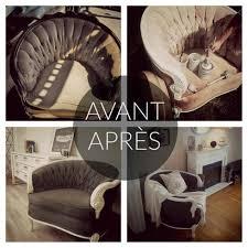 teinture canapé tissu remettre un vieux fauteuil au goût du jour avec de la peinture