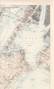 Staten Island Map Staten Island Nj Ny Quadrangle