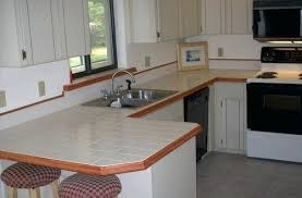 Tile Kitchen Countertops Ideas Ceramic Tile Countertops Glassnyc Co