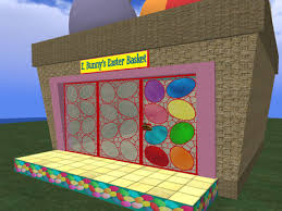Easter House Decorating Games by Second Life Marketplace Re Easter Basket House Shop Holiday