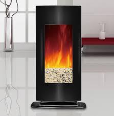 23 u2033 electric firebox fireplace insert heater log tempered glass