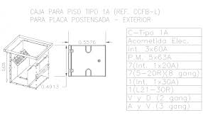 electrical floor plan drawing box electrical detail cad drawing