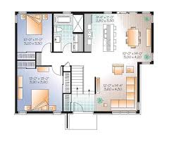 modern open floor plans modern home open floor plans w3280 v1 modern home design master