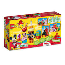 mickey mouse clubhouse birthday parade lego duplo playset shopdisney
