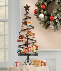 spiral ornament tree tabletop home decor display