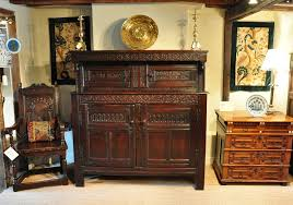 north country oak marriage court cupbaord dated 1667 the