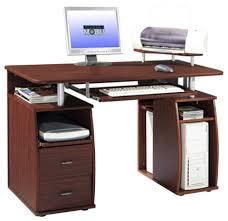 Computer Workstation Desk Techni Mobili Complete Computer Workstation Desk With Storage